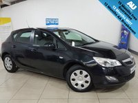 USED 2012 12 VAUXHALL ASTRA 1.4 EXCLUSIV 5d 98 BHP