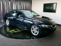 USED 2013 63 BMW 3 SERIES 2.0 320D M SPORT 4d 181 BHP £0 DEPOSIT FINANCE AVAILABLE, AIR CONDITIONING, AUX INPUT, BLUETOOTH CONNECTIVITY, BMW PROFESSIONAL, CLIMATE CONTROL, CRUISE CONTROL, DAB RADIO, DAYTIME RUNNING LIGHTS, DRIVE PERFORMANCE CONTROL, PARKING SENSORS, SATELLITE NAVIGATION, START/STOP SYSTEM, STEERING WHEEL CONTROLS, TRIP COMPUTER, VOICE CONTROLS