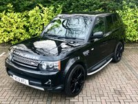 USED 2012 LAND ROVER RANGE ROVER SPORT 3.0 SDV6 HSE LUXURY 5d AUTO 255 BHP px swap