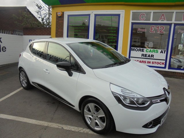 USED 2015 64 RENAULT CLIO 0.9 DYNAMIQUE MEDIANAV ENERGY TCE S/S 5d 90 BHP