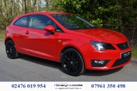 USED 2014 63 SEAT IBIZA 1.2 TSI FR 3d 104 BHP JUST ARRIVED, FULL SERVICE HISTORY, SATELLITE NAVIGTION, BLUETOOTH, CRUISE CONTROL, 2 KEYS