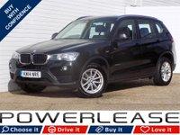 USED 2014 14 BMW X3 2.0 XDRIVE20D SE 5d AUTO 188 BHP