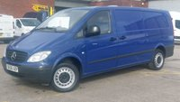 2006 MERCEDES-BENZ VITO 2.1 111 CDI EXTRA LONG LWB 1d 109 BHP 6 DOOR DOG VAN 1 OWNER VERY LOW MILES F/S/H  FREE 12 MONTHS WARRANTY COVER £5890.00