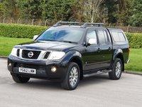 2012 NISSAN NAVARA 3.0 OUTLAW DCI 4X4 SHR DCB 1d AUTO 228 BHP £12950.00