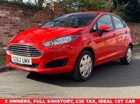 USED 2013 62 FORD FIESTA 1.2 STYLE 5d 59 BHP 2 OWNERS, FULL SERVICE HISTORY, MOT MAR 20, £30 ROAD TAX, EXCELLENT CONDITION, AIR CON, RADIO CD, E/WINDOWS, R/LOCKING, FREE WARRANTY, FINANCE AVAILABLE, HPI CLEAR, PART EXCHANGE WELCOME,