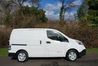 USED 2015 15 NISSAN NV200 0.0 E ACENTA RAPID 1d AUTO 108 BHP