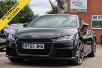 USED 2015 65 AUDI TT 2.0 TDI ULTRA S LINE 2d 182 BHP FULL AUDI SERVICE HISTORY + ONE OWNER FROM NEW