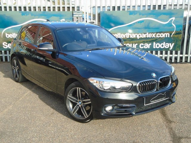 2015 65 BMW 1 SERIES 2.0 118D SPORT 5d AUTOMATIC 147 BHP 1 OWNER SPORT 50,000