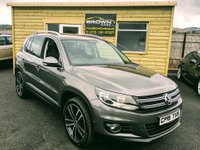 2015 VOLKSWAGEN TIGUAN 2.0 MATCH TDI BLUEMOTION TECHNOLOGY 4MOTION 5d 148 BHP £13500.00