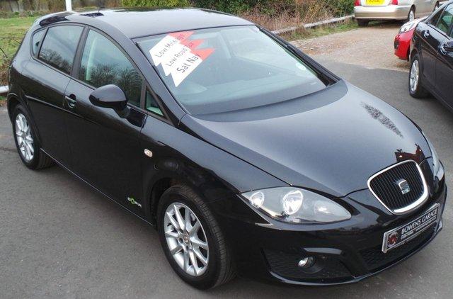 2011 11 SEAT LEON 1.6 CR TDI SE COPA 5d 103 BHP