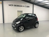 USED 2013 13 SMART FORTWO CABRIO 1.0 EDITION 21 MHD 2d AUTO 71 BHP Only 20,000 Miles!!