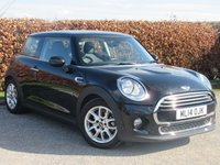 USED 2014 14 MINI HATCH COOPER 1.5 COOPER 3d AUTO * AUTOMATIC *  LOW MILEAGE * BLUETOOTH *