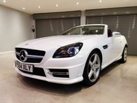 USED 2014 64 MERCEDES-BENZ SLK 2.1 SLK250 CDI BLUEEFFICIENCY AMG SPORT 2d 204 BHP PANORAMIC GLASS ROOF + SATELLITE NAVIGATION + AIR SCARF + HEATED SEATS