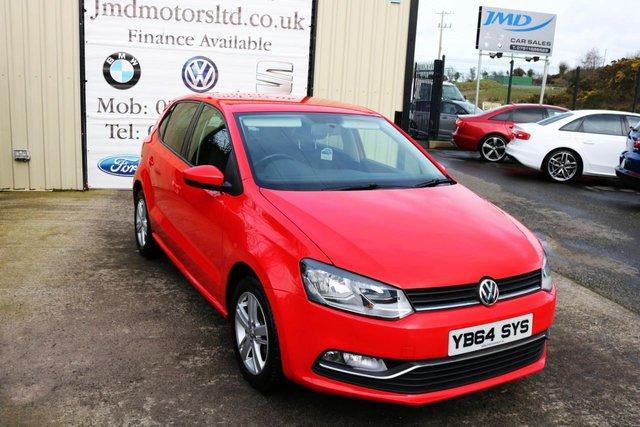 2014 Volkswagen Polo SE TDI Bluemotion £7,950