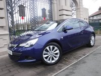 USED 2015 15 VAUXHALL ASTRA GTC 2.0 GTC SRI CDTI S/S 3d 162 BHP ****FINANCE ARRANGED****PART EXCHANGE WELCOME***FULL SH*PARKING SENSORS*AC*DAB*AUX*CRUISE*HALF LEATHER*PRIVACY GLASS