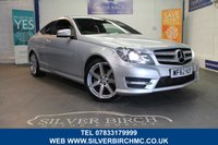 USED 2012 62 MERCEDES-BENZ C CLASS 2.1 C250 CDI BLUEEFFICIENCY AMG SPORT 2d AUTO 204 BHP 60 second finance check on website