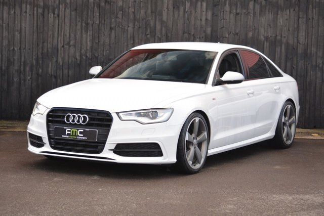 2014 14 AUDI A6 2.0 TDI BLACK EDITION 4d 175 BHP