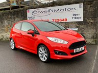 USED 2013 63 FORD FIESTA 1.0L ZETEC S 3d 124 BHP FINANCE AVAILABLE+FULL SERVICE HISTORY+LOW INSURANCE COSTS