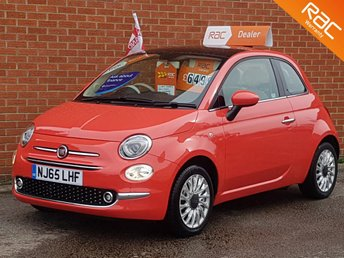 2015 FIAT 500 1.2 LOUNGE 3d 69 BHP £SOLD