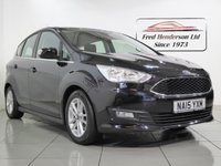 USED 2015 15 FORD C-MAX 1.6 ZETEC 5d 124 BHP Only One owner and very low mileage + Full Ford service history