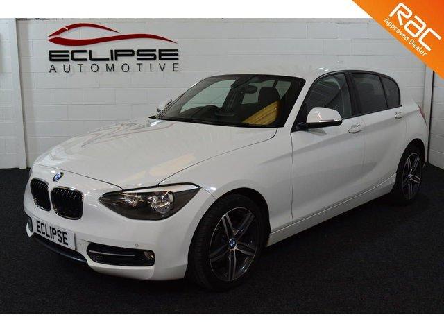 2012 R BMW 1 SERIES 2.0 116D SPORT 5d 114 BHP