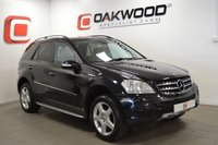 USED 2007 57 MERCEDES-BENZ M CLASS 4.0 ML420 CDI SPORT 5d AUTO 302 BHP SOUGHT AFTER FLAGSHIP MODEL + SERVICE HISTORY + SAT NAV