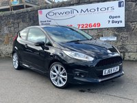USED 2015 65 FORD FIESTA 1.0 ZETEC S 3d 139 BHP FINANCE AVAILABLE+FULL SERVICE HISTORY+SATELLITE NAVIGATION+CRUISE CONTROL+HEATED FRONT SEATS
