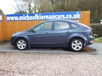 USED 2008 58 FORD FOCUS 1.8 ZETEC 5d 125 BHP FSH X 6 STAMPS
