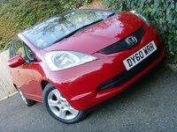 2010 HONDA JAZZ 1.3 I-VTEC ES 5d 98 BHP £3999.00