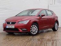 2015 SEAT LEON 1.6 TDI SE TECHNOLOGY 5d 105 BHP £6789.00