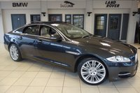USED 2015 64 JAGUAR XJ 3.0 D V6 PORTFOLIO 4d AUTO 275 BHP full jaguar service history FINISHED IN STUNNING STRATUS GREY WITH FULL LEATHER SEATS + FULL JAGUAR SERVICE HISTORY + SATELLITE NAVIGATION + REVERSE CAMERA + XENON HEADLIGHTS + 20 INCH ALLOYS + HEATED/COOLED FRONT/REAR SEATS + HEATED STEERING WHEEL + BLIND SPOT ASSIST + 4 ZONE AIR CONDITIONING + BLUETOOTH + DAB RADIO + CRUISE CONTROL