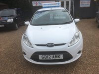 USED 2012 12 FORD FIESTA 1.2 ZETEC 5d 81 BHP FULLY AA INSPECTED - FINANCE AVAILABLE