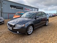 2011 VOLVO S40 1.6 DRIVE SE LUX EDITION S/S 4d 113 BHP £4490.00