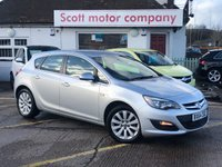 USED 2014 64 VAUXHALL ASTRA 1.6 Tech Line CDTI 5 door Diesel