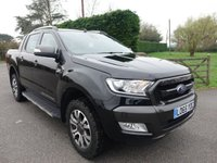2016 FORD RANGER WILDTRAK 4X4 DOUBLE CAB PICK UP AUTOMATIC 3.2 TDCI 200 BHP £16995.00