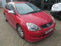 2005 HONDA CIVIC 1.6 SPORT 3d 110 BHP £POA