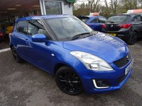 USED 2016 16 SUZUKI SWIFT 1.2 SZ-L 5d 94 BHP Full Suzuki Service History + Just Serviced by Suzuki, One Lady Owner from new, MOT until March 2020, Great fuel economy! Only £30 Road Tax!
