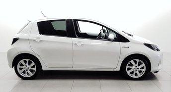 2013 TOYOTA YARIS 1.5 T SPIRIT HYBRID 5d AUTO 75 BHP £8450.00