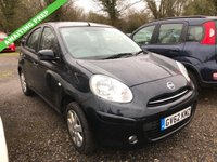 USED 2013 62 NISSAN MICRA 1.2 ACENTA 5d 79 BHP