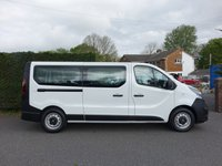 USED 2017 67 VAUXHALL VIVARO  2900 L2 LWB COMBI 9 SEAT MINIBUS 1.6 CDTI BITURBO S/S 125 BHP Direct From Local Company With Air Con & Only 19000 Miles! Balance Of Vauxhall Warranty Till December 2020!