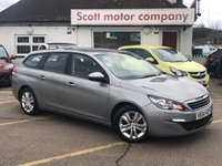 2015 PEUGEOT 308 SW 1.6 HDI Active S/S SW 5 door Diesel £SOLD