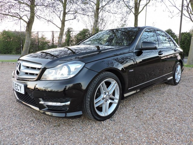 2011 61 MERCEDES-BENZ C CLASS 2.1 C220 CDI Sport Edition 125 7G-Tronic 4dr AMG Line Body Kit!Fully Loaded