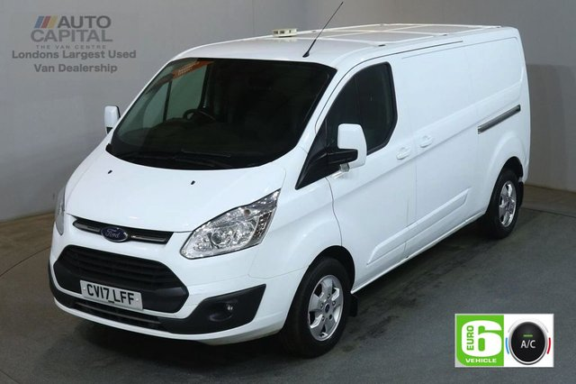 2017 17 FORD TRANSIT CUSTOM 2.0 290 LIMITED 130 BHP L2 H1 LWB EURO 6 AIR CON VAN