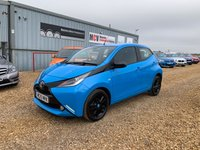 2015 TOYOTA AYGO 1.0 VVT-I X-CITE 2 X-SHIFT 5d AUTO 69 BHP £7490.00