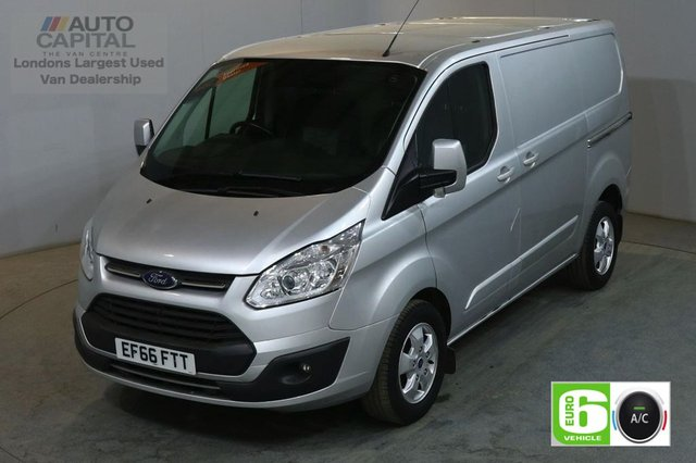 2016 66 FORD TRANSIT CUSTOM 2.0 290 LIMITED 130 BHP L1 H1 SWB EURO 6 AIR CON VAN NO VAT AIR CONDITIONING EURO 6 NO VAT