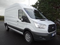 USED 2016 16 FORD TRANSIT 350 L3 H3 LWB HIGHTOP FWD 2.2TDCI 125 BHP Direct From Leasing Company With Full Service History, Very Clean Example Viewing Recommended!