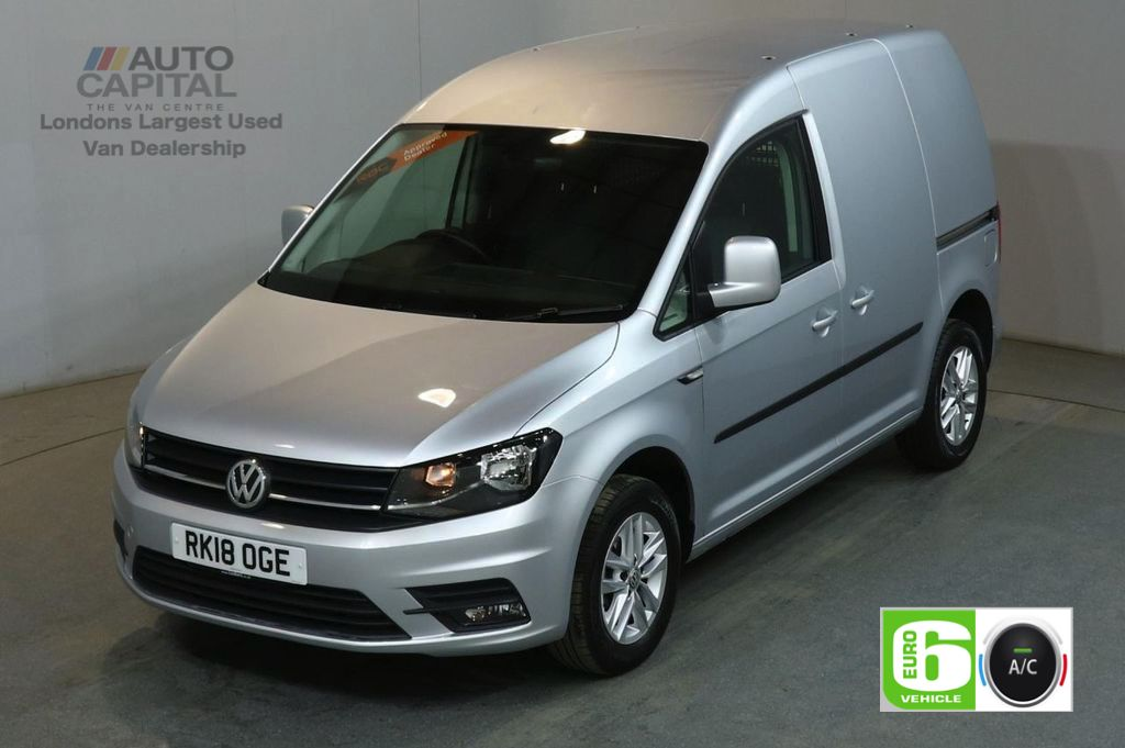 2878c8b50a USED 2018 18 VOLKSWAGEN CADDY 2.0 C20 TDI HIGHLINE AUTO 102 BHP SWB EURO 6  START ...