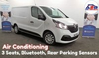 USED 2017 17 RENAULT TRAFIC 1.6 BUSINESS PLUS ENERGY DCI 125 BHP, DAB Radio, 3 Seats, Air Conditioning, Rear Parking Sensors, Ply Lined **Drive Away Today** Over The Phone Low Rate Finance Available, Just Call us on 01709 866668**