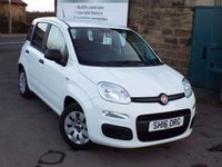 USED 2016 16 FIAT PANDA 1.2 POP 5d 69 BHP One Former Owner Only 17k