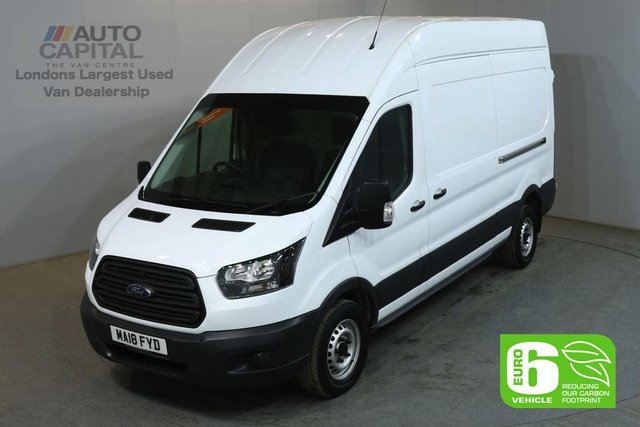 2018 18 FORD TRANSIT 2.0 350 L3 H3 129 BHP LWB H/ROOF FWD EURO 6 VAN EURO 6 UNDER DEALER WARRANTY
